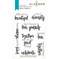 Altenew - Clear Photopolymer Stamps - Better Together