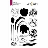 Altenew - Clear Photopolymer Stamps - Exotic Tulips
