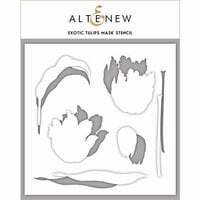 Altenew - Mask Stencil - Exotic Tulips