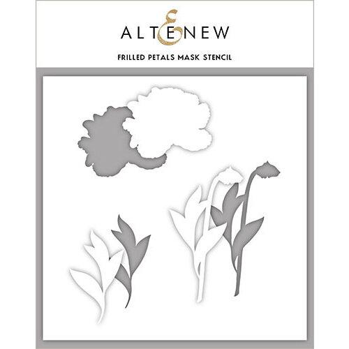 Altenew - Stencil - Frilled Petals