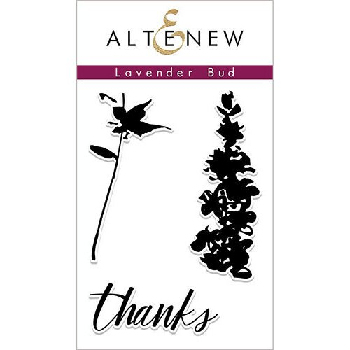 Altenew - Clear Photopolymer Stamps - Lavender Bud