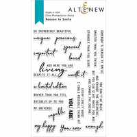 Altenew - Clear Photopolymer Stamps - Reason to Smile