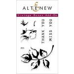Altenew - Clear Photopolymer Stamps - Vintage Roses Add-On