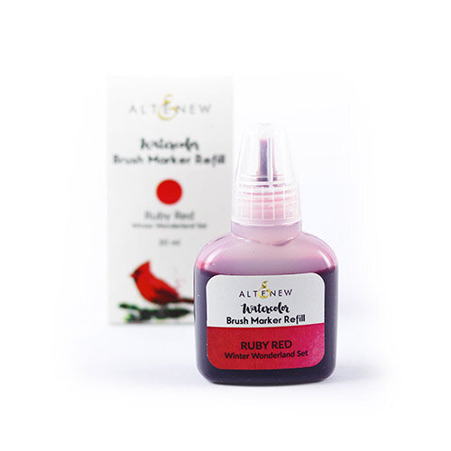 Altenew - Watercolor - Brush Marker Refill - Ruby Red