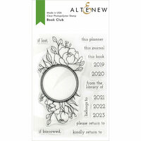 Altenew - Clear Photopolymer Stamps - Book Club