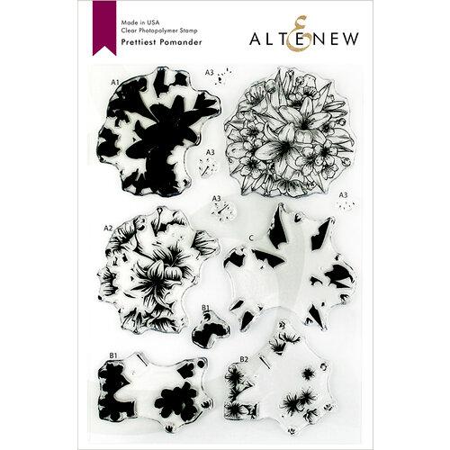 Altenew - Clear Photopolymer Stamps - Prettiest Pomander