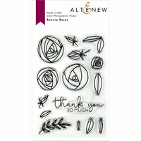 Altenew - Clear Photopolymer Stamps - Rennie Roses