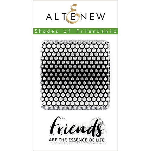 Altenew - Clear Photopolymer Stamps - Shades of Friendship