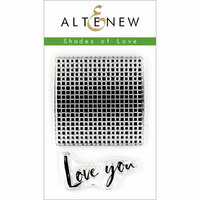 Altenew - Clear Photopolymer Stamps - Shades of Love