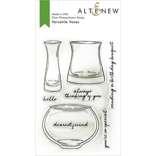 Altenew - Clear Photopolymer Stamps - Versatile Vases