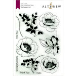 Altenew - Clear Photopolymer Stamps - Wallpaper Art