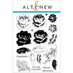 Altenew - Clear Photopolymer Stamps - Rose Blossom
