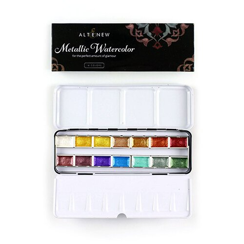 Altenew - Metallic Watercolor - 14 Pan Set