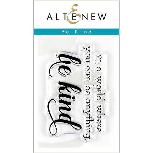 Altenew - Clear Photopolymer Stamps - Be Kind