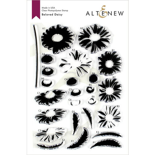 Altenew - Clear Photopolymer Stamps - Beloved Daisy