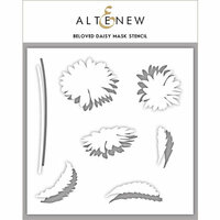 Altenew - Stencil - Beloved Daisy