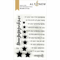 Altenew - Clear Photopolymer Stamps - Bundle Of Joy