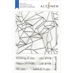 Altenew - Clear Photopolymer Stamps - Geometric Landscape