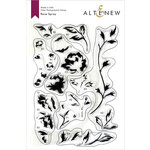 Altenew - Clear Photopolymer Stamps - Rose Spray
