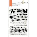 Altenew - Clear Photopolymer Stamps - Spring Fling