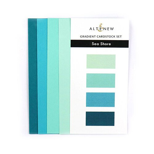 Altenew - Gradient Cardstock Set - Sea Shore