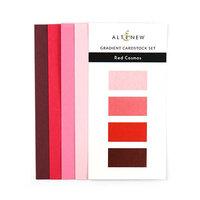 Altenew - Gradient Cardstock Set - Red Cosmos
