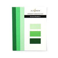 Altenew - Gradient Cardstock Set - Green Meadows