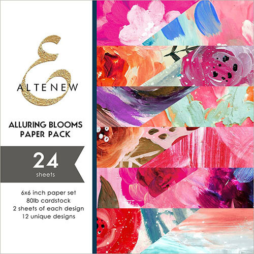 Altenew - Alluring Blooms - 6 x 6 Paper Pack