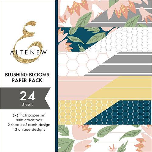 Altenew - Blushing Blooms - 6 x 6 Paper Pack