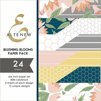 Altenew - Blushing Blooms - 6 x 6 Paper Pack
