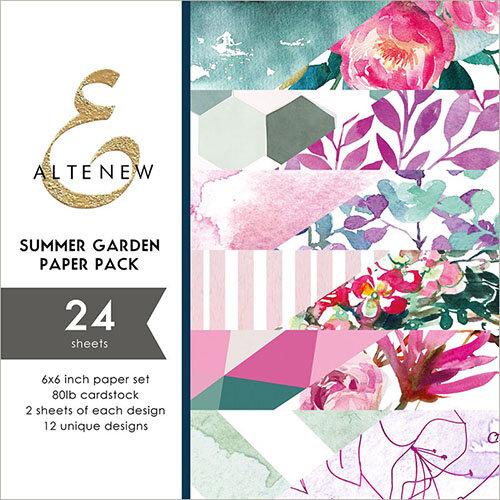Altenew - Summer Garden - 6 x 6 Paper Pack
