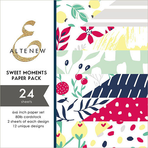 Altenew - Sweet Moments - 6 x 6 Paper Pack