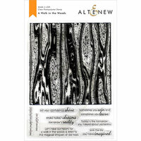 Altenew - Clear Photopolymer Stamps - A Walk in the Woods