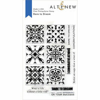 Altenew - Clear Photopolymer Stamps - Dare to Dream