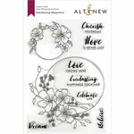 Altenew - Clear Photopolymer Stamps - Everlasting Happiness