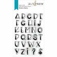 Altenew - Clear Photopolymer Stamps - Ombre Alpha