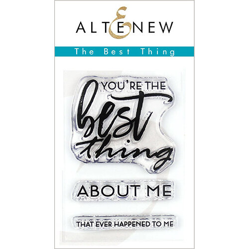 Altenew - Clear Photopolymer Stamps - The Best Thing