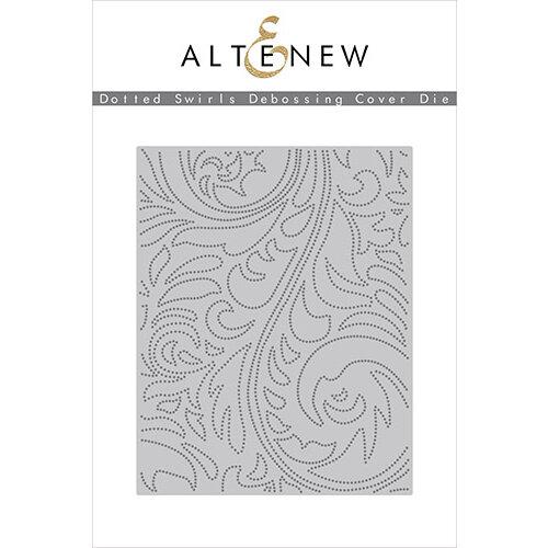 Altenew - Dies - Dotted Swirls Debossing Cover