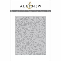 Altenew - Dies - Dotted Swirls Debossing Cover