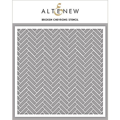 Altenew - Stencil - Broken Chevrons