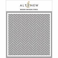 Altenew - Stencil - Broken Chevrons
