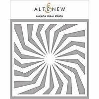 Altenew - Stencil - Illusion Spiral
