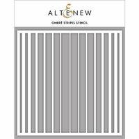 Altenew - Stencil - Ombre Stripes