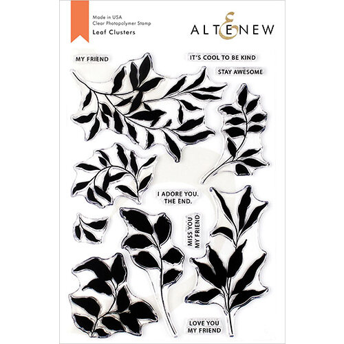 Altenew - Clear Photopolymer Stamps - Leaf Clusters