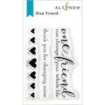 Altenew - Clear Photopolymer Stamps - One Friend