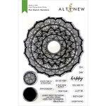 Altenew - Clear Photopolymer Stamps - Pen Sketch Mandala