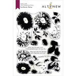 Altenew - Clear Photopolymer Stamps - Sunflower Daisy