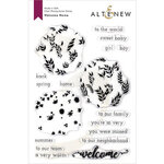 Altenew - Clear Photopolymer Stamps - Welcome Home