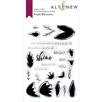 Altenew - Clear Photopolymer Stamps - Bright Blossoms