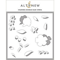 Altenew - Stencil - Charming Doodles